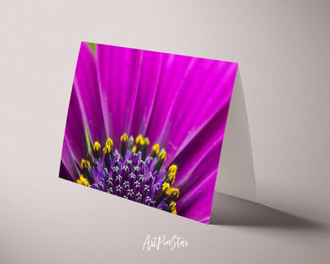 Gazania Flower Photo Art Customized Gift Cards