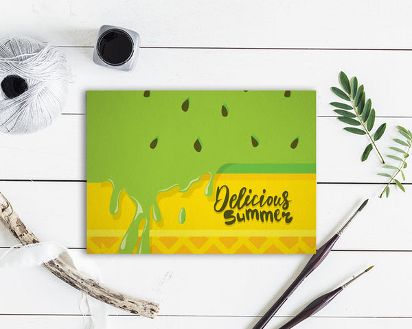 Delicious Summer Food Customized Gift Cards