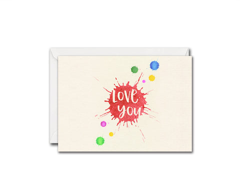 Love You Friendship Customized Greeting Card
