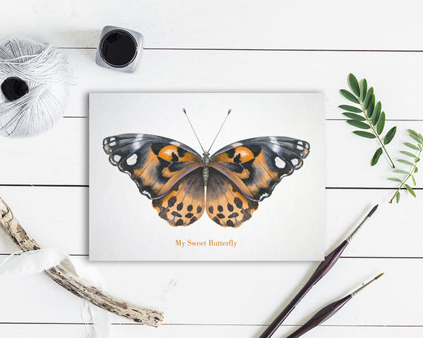 My Sweet Butterfly Butterfly Animal Greeting Cards