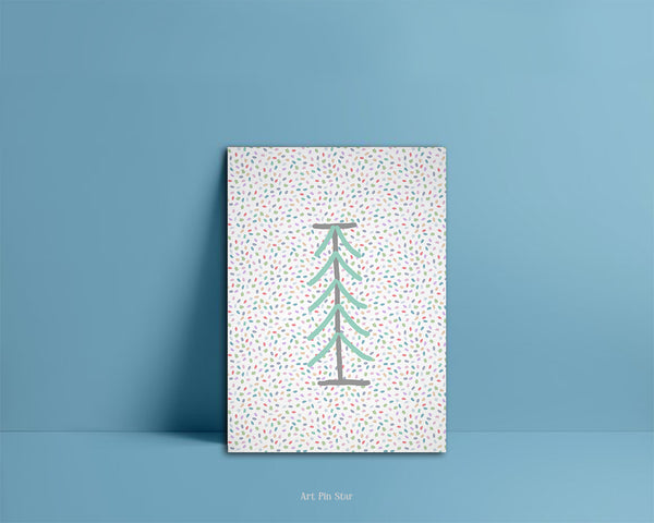 Alphabet Forest Letter I Animal Monogram Note Cards