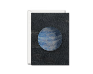 Neptune Planet Solar System Customizable Greeting Card