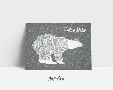 Polar Bear Animal Greeting Cards