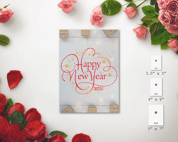 NewYear 2021 Amazing Customized Greeting Card