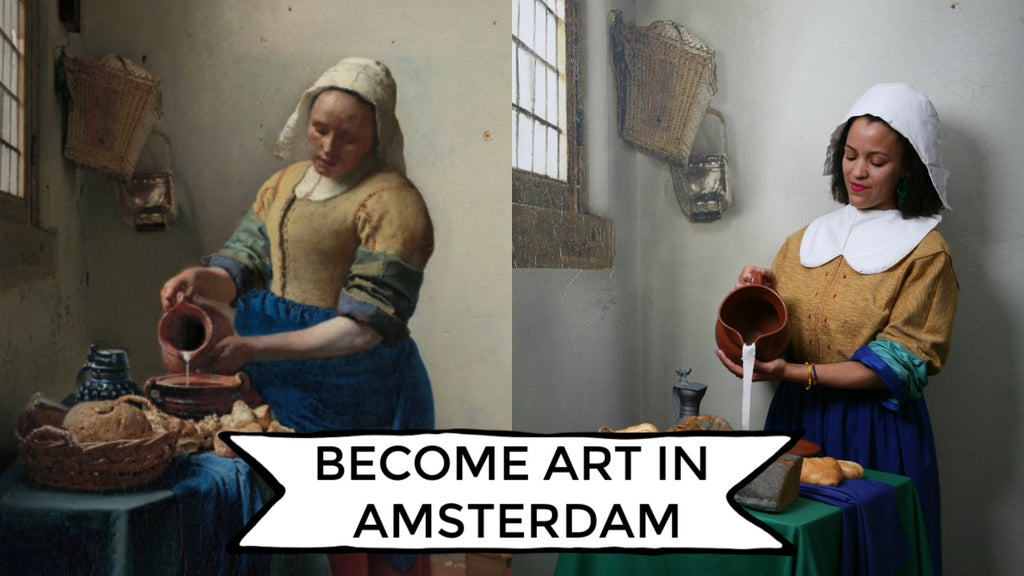 Become the Art You See in Amsterdam! #Aristocats #Googlearts