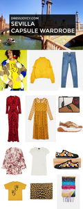 What To Pack for Sevilla - Sevilla Capsule Wardrobe