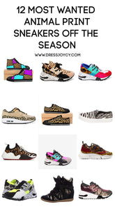 12 Most Wanted Animal Print Sneakers off the Season | Sneaker Trends 2019