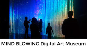 Singapore's MIND BLOWING Digital Art Museum | ArtScience Museum Singapore | Marina Bay Sands