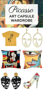 Picasso Art Capsule Wardrobe - Wearable Art for Fashion & Home