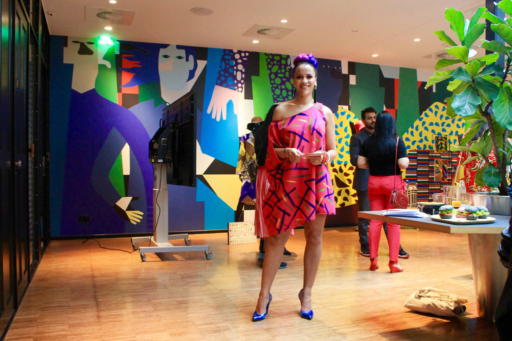 My First Joycy Fashion  Art Exhibit at citizenM - societyM