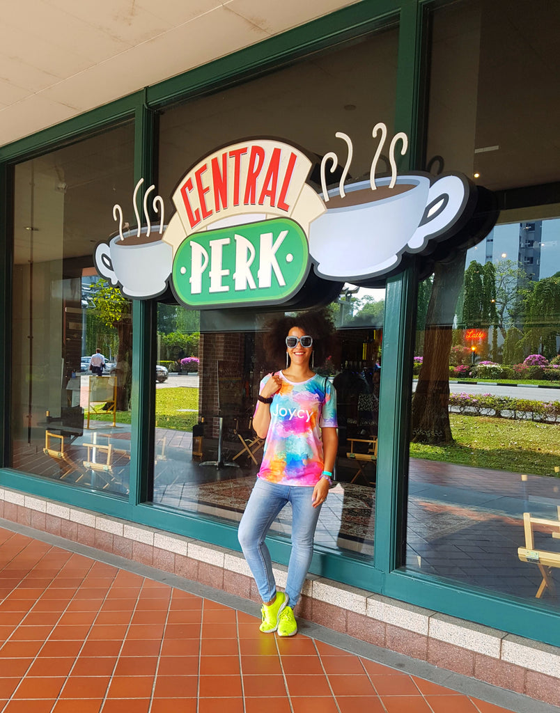Oh My Chandler! There's a Friends' Central Perk Cafe in Singapore!