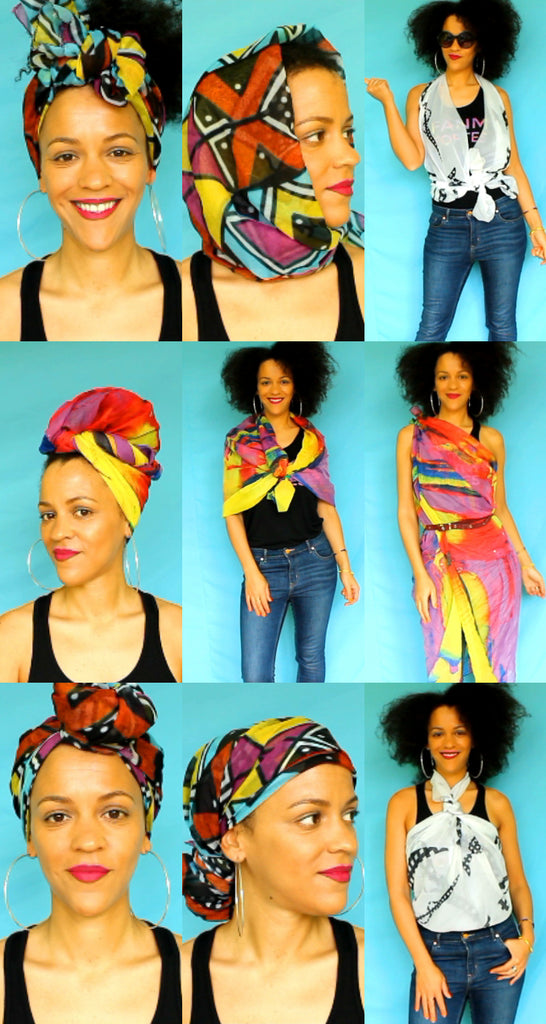 25 Scarf Fashion Hacks You Must Try | Africanité, Créolité, Mondialité
