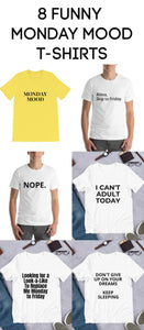 8 Funny T-shirts That Perfectly Express Monday Mood