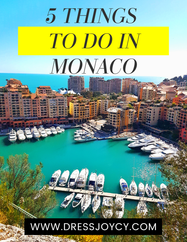 5 Things To Do in Monaco | Monaco Travel Guide