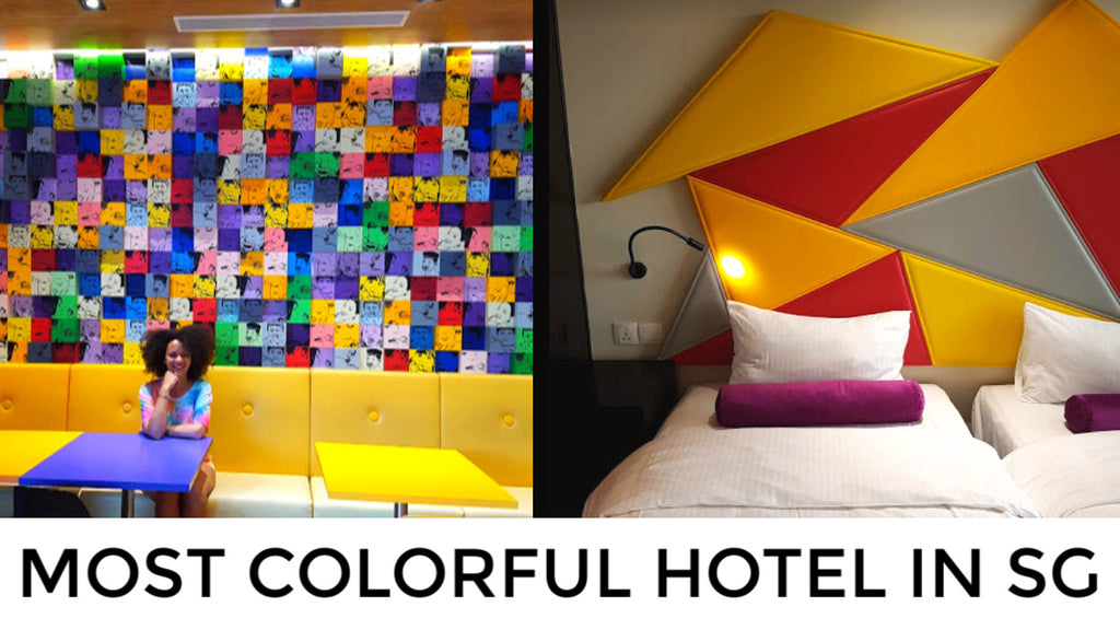 Is This The Most Colorful Hotel in Singapore? Ibis Styles MacPherson
