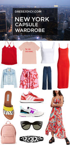 New York Capsule Wardrobe | What To Pack for New York