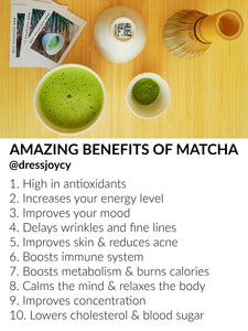 10 Amazing Benefits of Matcha