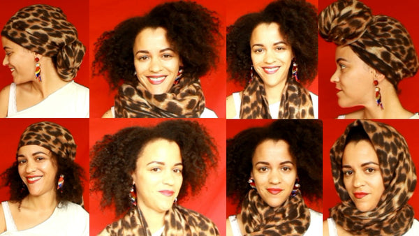 12 Creative Ways To Tie a Scarf in 5min!