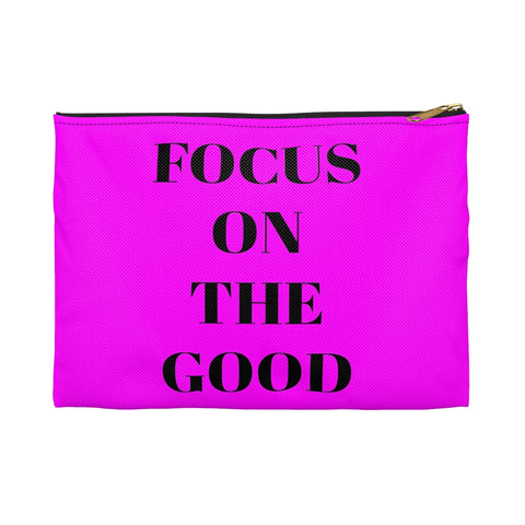 Focus on the Good Travel Makeup Bag