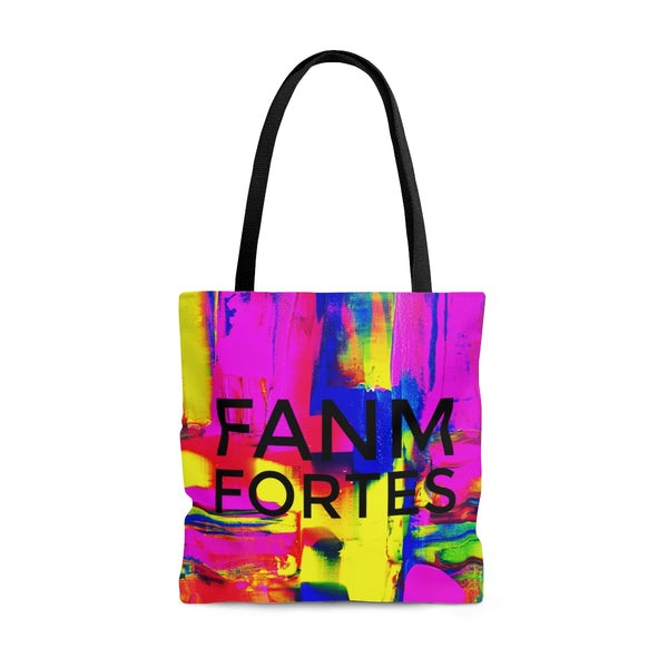 Fanm Fortes Abstract Art Tote Bag | Bolsa | Culture Couture
