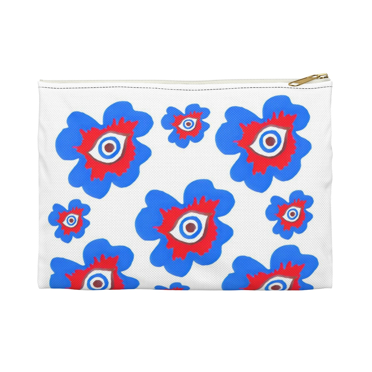 Evil Eye Flower Travel Makeup Bag | Culture Couture