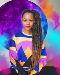 Cozy & Colorful Sweatshirt - magical realism