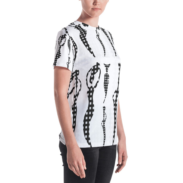 Les Porteuses d'Espoir All-Over Print Crew Neck T-Shirt