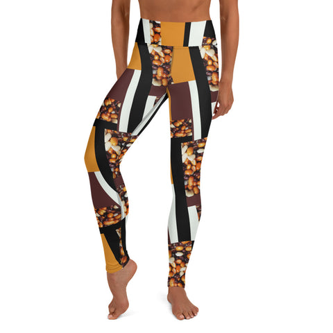 Feijão Mágico Yoga Leggings | Ground Yourself