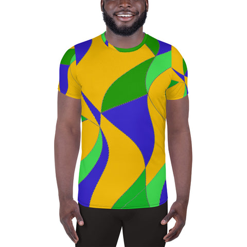 KaRIOke Unisex Athletic T-shirt | Brazil Culture Couture