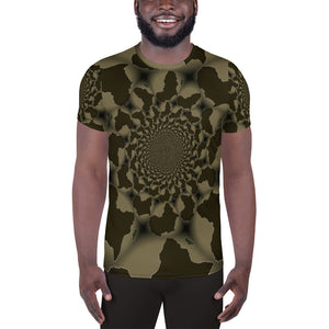 African Kaleidoscope All-Over Print Men's Athletic T-shirt | Unisex T-shirt