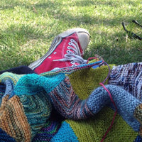 The Other Caroline: Knitting On-The-Go
