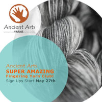 3 New Patterns For Spring & Introducing the AAY Super Amazing Yarn Club!