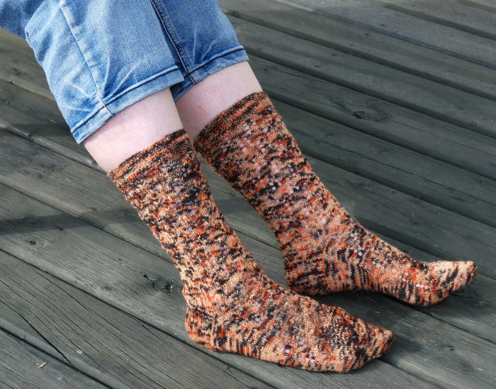 Rumple Catkin Socks