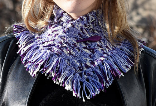 Whiskers and Fringe Neckwrap