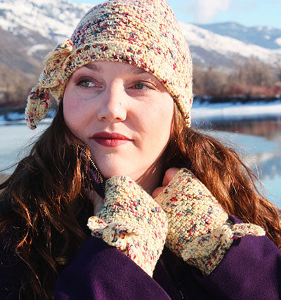 Knot My Hat and Mitts (Crochet)