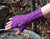 Rippling Waves Fingerless Gloves