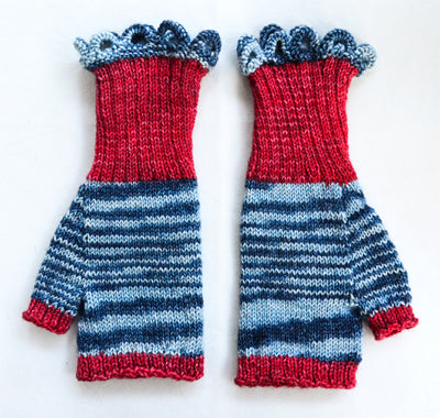 Razamataz (Fingerless) Gloves, too!