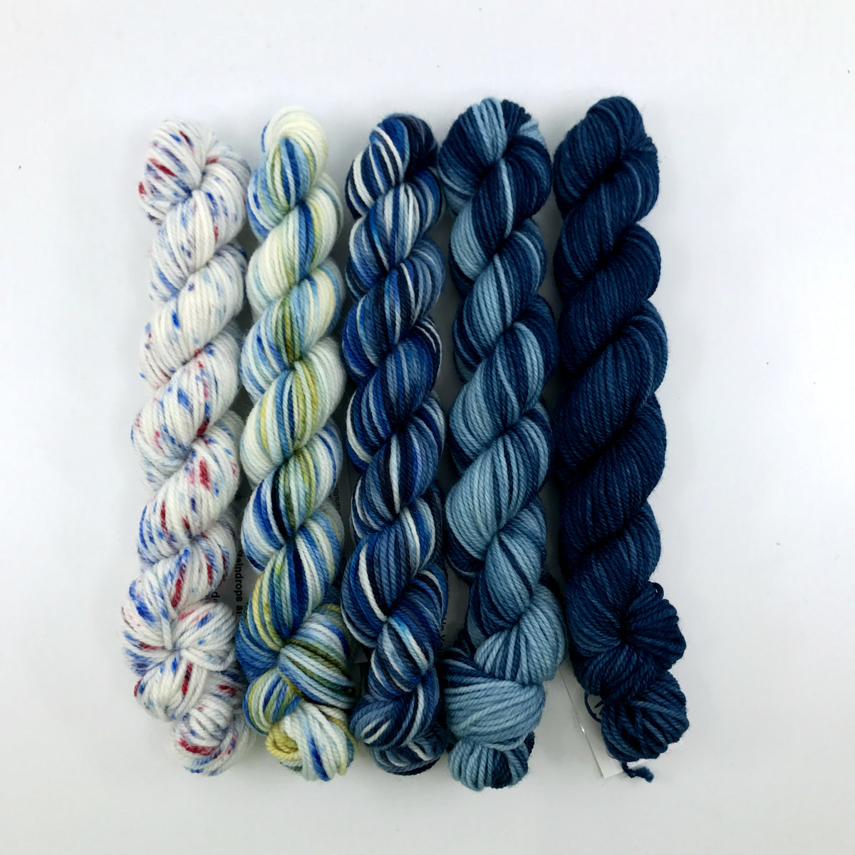 Socknado Twisters Mini Skein Set - I've Got The Blues