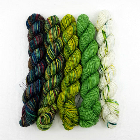 Socknado Twisters Mini Skein Set - A Walk In The Forest