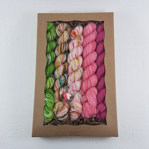 Socknado Twisters Mini Skein Kit - Spring Fields