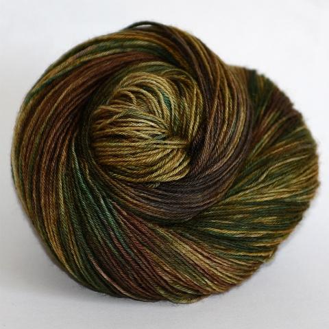 A Rolling Stone (Gathers no Moss) - Revival Fingering - Dyed Stock