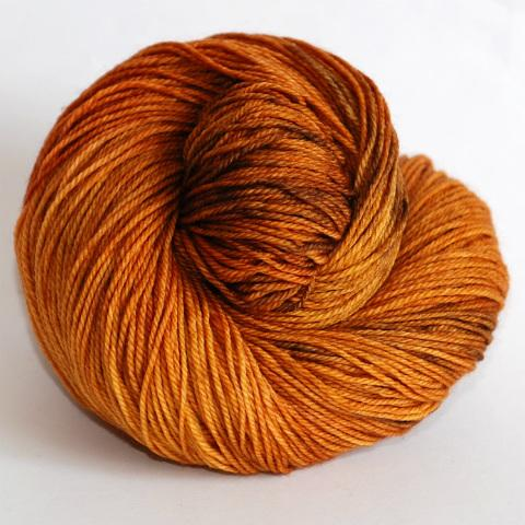 Abyssinian Cat - Socknado Fingering - Dyed Stock