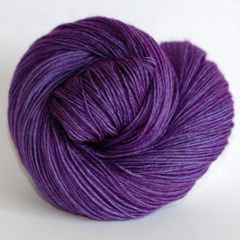 African Violet - Merino Singles - Dyed Stock