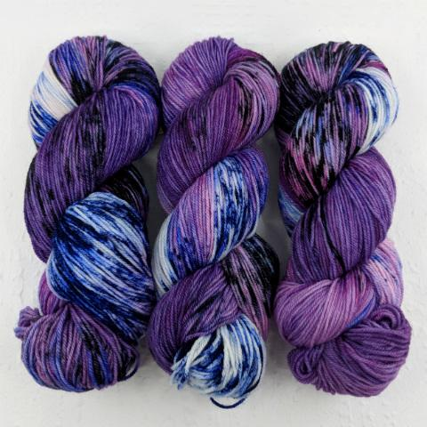 Alexandrite Effect - Little Nettle Soft Fingering - Dyed Stock