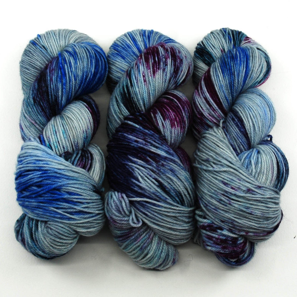 All the Secret Places - Little Nettle Soft Fingering - Dyed Stock