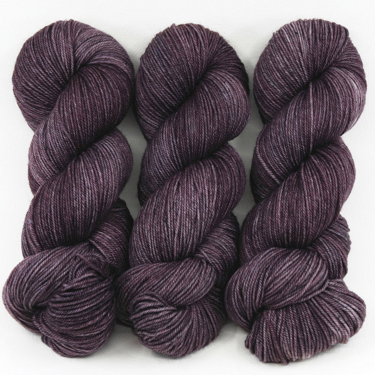 Baby Aubergine - Revival Fingering - Dyed Stock