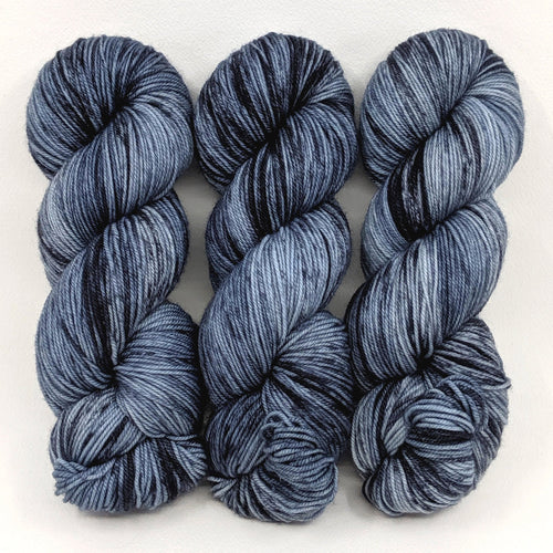 Basalt - Little Nettle Soft Fingering - Dyed Stock