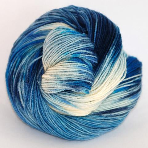 Blue Jeans Blues in Fingering / Sock Weight