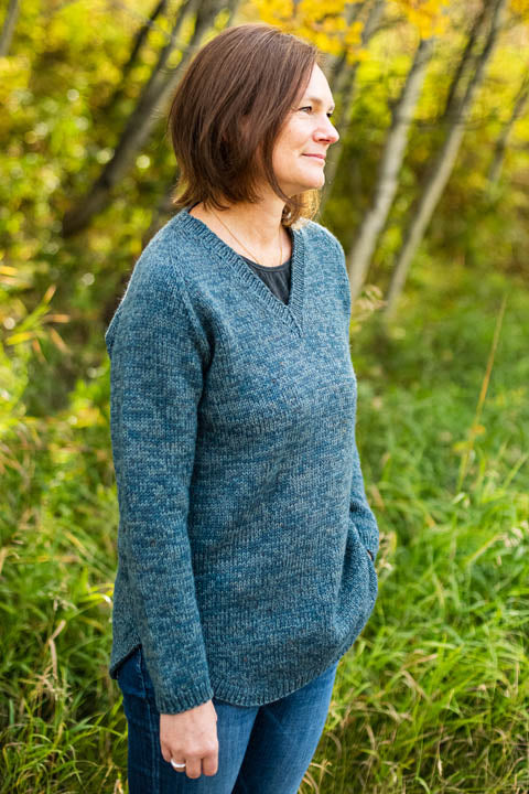 Brindled Pullover Pattern