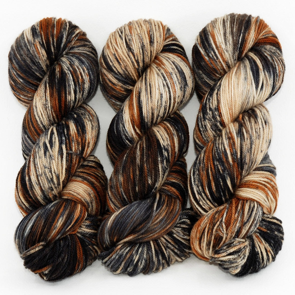 Brindle Dog - Revival Fingering - Dyed Stock